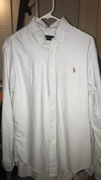 white Ralph Lauren dress shirt Centreville, 20120