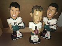 miami dolphins player bobble head collection jay fiedler and olindo marr Miami, 33183