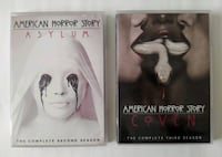 American Horror Story - Season 2 and 3 - DVD Vancouver, V5X 3Z8