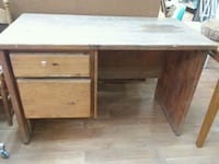 Solid wood desk. 23.5 x 47.5 Albuquerque, 87105