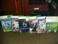 Xbox 360 with games  Fullerton, 92832
