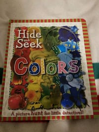 Hide &Seek Colours Book Toronto, M5M 1S7