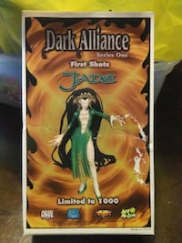 DARK ALLIANCE JADE FIGURE #/1000 Pickering, L1V 3V7