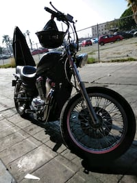 black cruiser motorcycle Los Angeles, 90017