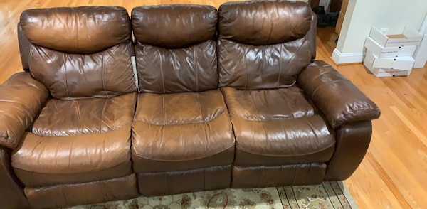 2 RECLINING SOFAS FOR FREE