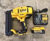 Dewalt brad nailer, brushless and cordless Edmonton, T5W 3Y2