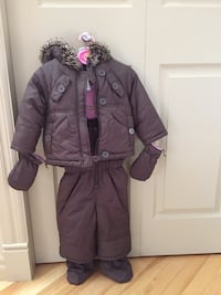 Toddler 6pc winter coat / snowsuit Size 6-12 mos Chestermere