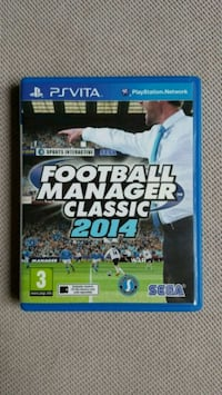 Ps vita - psvita Football Manager Classic 2014
