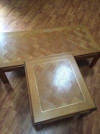 Coffee table w/2 end tables