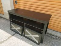TV stand with glass doors Oakville, L6H 3H2