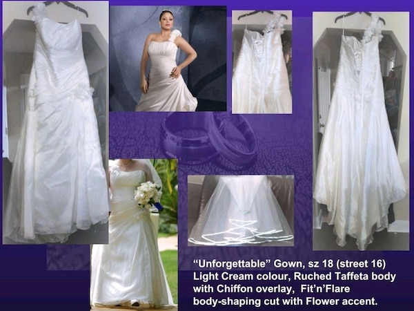 3e186db2142 Off White Wedding Gown usado en venta en Toronto - letgo