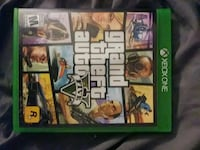 Xbox One Grand Theft Auto Five game case Middletown, 07748