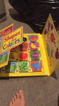 New shapes and colours learning box. Great for a daycare or SK, grade . Made by Readon publications incorporated. , Vaughan, L4J 5L7