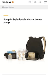 Medela's Pump In Style Double Electric Breast Pump  Waterdown, L8B 0E6