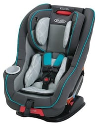 Graco Size4Me 65 convertible car seat with RapidRemove in Finch Rockville