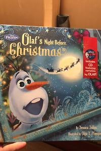 Olaf's night before Christmas book Barrie, L4N 5V4