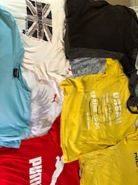 Used branded shirt lot 6-9 mint condition 10 tees in men's size L $45 Oakville, L6H 0V4