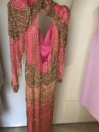 sequined heavy beaded Dress size 6 Sterling Heights, 48310