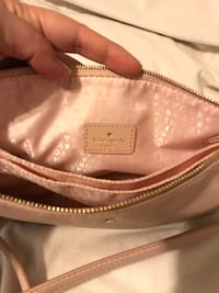 Authentic Kate Spade Leather Crossbody - Ginger Tea