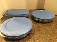 Set of 3 Brand New Rubbermaid Food Storage Containers