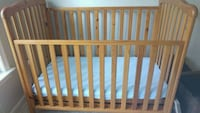baby's brown wooden crib Centreville, 20120