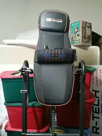gray and red Elite Fitness inversion table Scottsdale, 85258