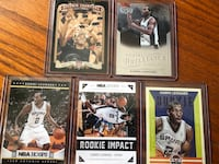 5 different Kawhi Leonard Rookies Toronto, M6H 2V8