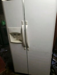 white side by side refrigerator with dispenser South Gate, 90280