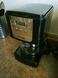 black and gray Cuisinart coffeemaker 2257 mi