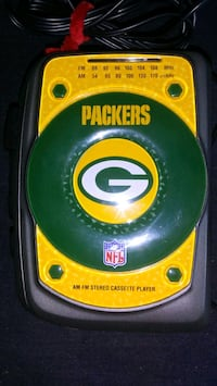 Packers Walkman Style radio cassette player Madison, 53713