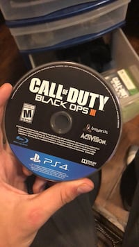 Call of Duty Black Ops 3 PS4 game disc Thorold, L2V 4G5
