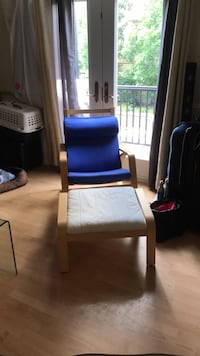 IKEA rocking chair and foot rest Toronto, M5T 1B7