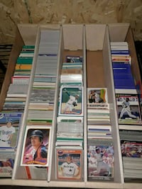 variety baseball cards from 1990 to 1984