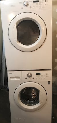 Stackable washer and dryer  Pickering, L1V 6P5