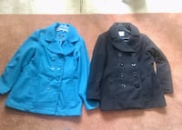 Ladies Pea Coat  L& XL  2 for $10
