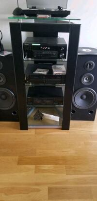 Home entertainment sound and stand