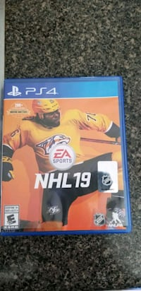 PS4 NHL19 game Barrie