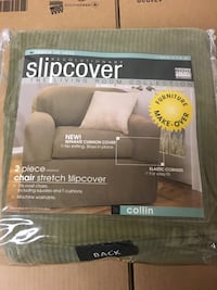 New Slipcover for chair