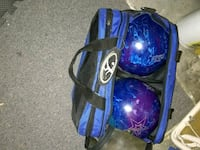 2 bowling balls with bag  Alexandria, 22315
