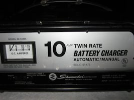 Schumacher Solid State Battery Charger