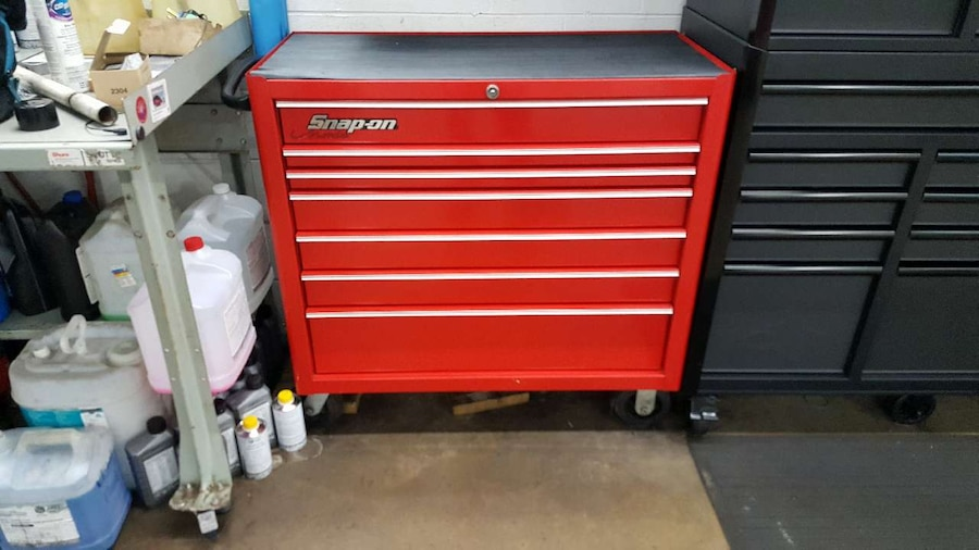 Photo Snap on kra4107d tool chest
