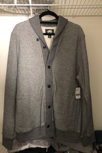 "Roots ""Rosedale Shawl Cardigan"" (size LARGE) negotiable"
