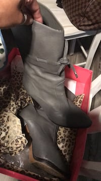 Betsey Johnson gray boots McAllen, 78501