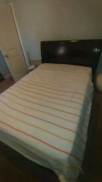 Dark chocolate full size bed. Matress is included. Long Beach, 90805