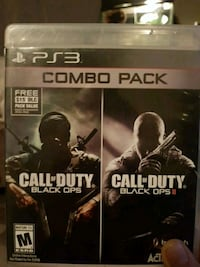 Call of Duty Black Ops PS3 game case Dartmouth, B3A 4C5