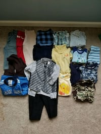 18 months various used clothes