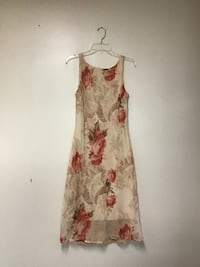 Women's Faith, love & passion polyester floral dress size-12
