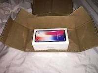 Raum grau iPhone X-Box