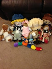 plush toy collection