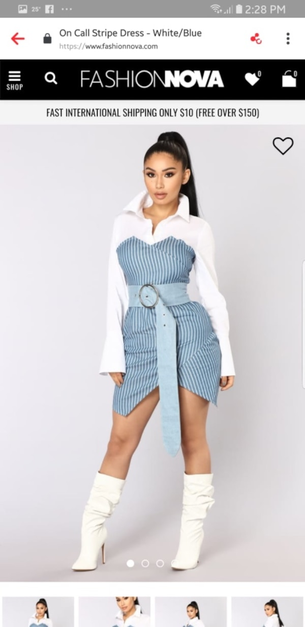 fa922078f7f Used Fashion Nova Dress for sale in Toronto - letgo